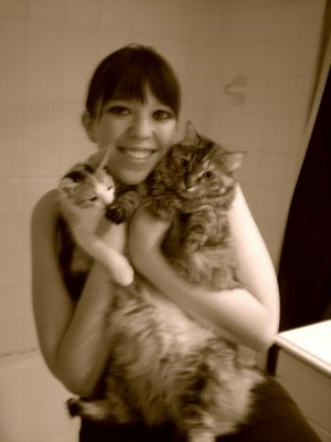 Me and the cats
