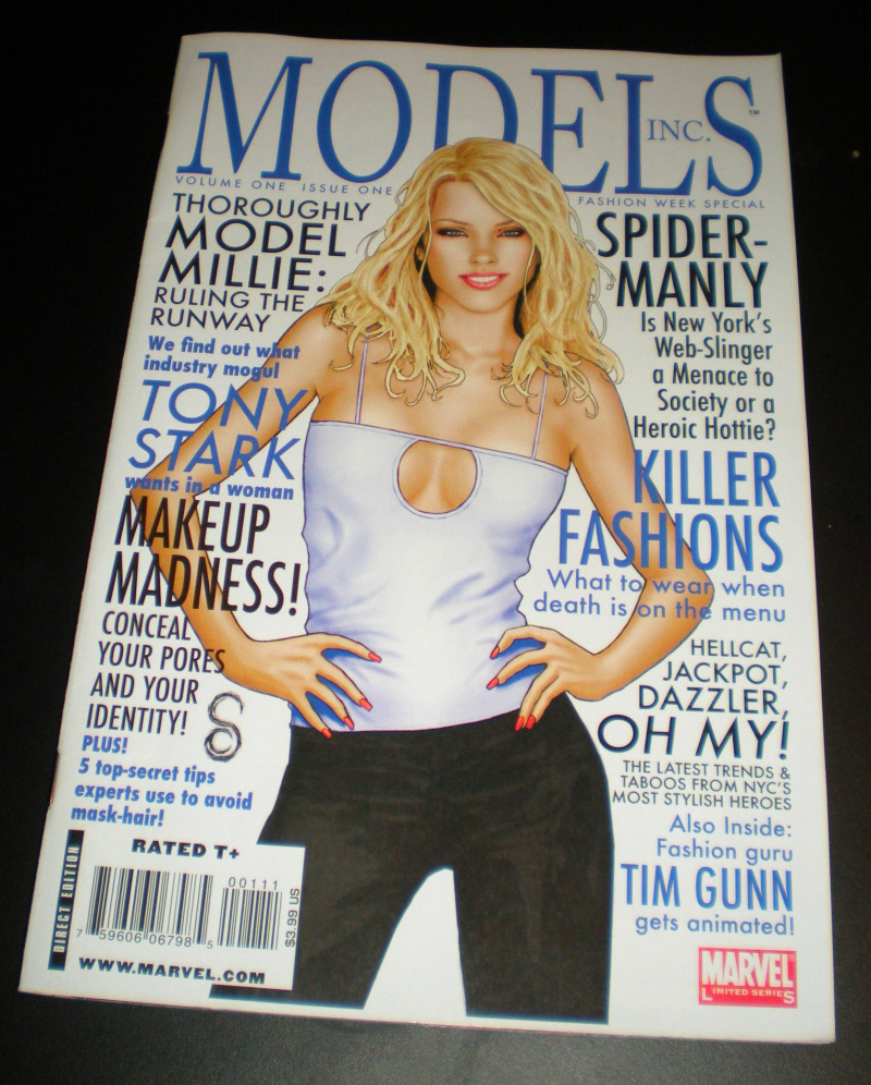 Models, Inc. Issue 1