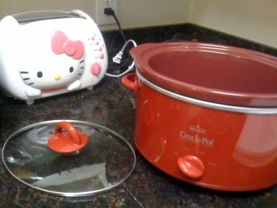 new crockpot!