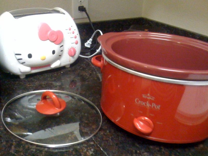 new crockpot!
