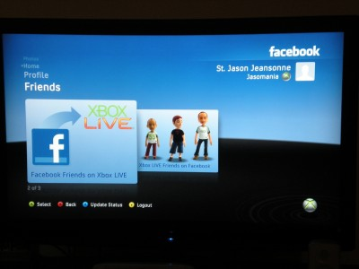 XBOX Live Facebook find friends