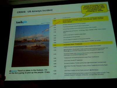 Paula Berg Southwest Air timeline of US Airways landing