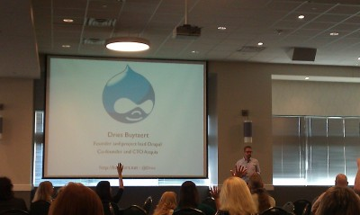 Dries of Drupal at SchipulCon