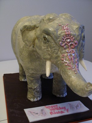 elephant-birtdhday-cake
