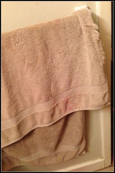 Hair makeup towel