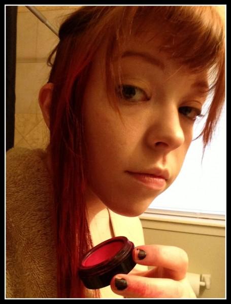 Hair makeup experiment 14