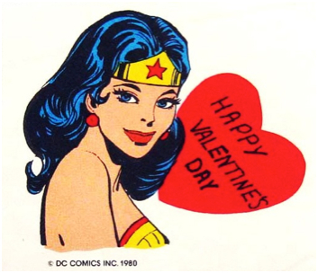 wonder woman valentine
