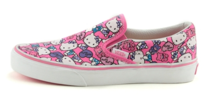 Hello Kitty Vans from Journeys - See more Cat Lady Fashion at Qcait.com