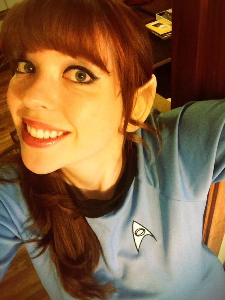Girl Spock Costume