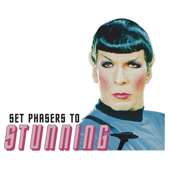 Spock - Set Phasers to Stunning