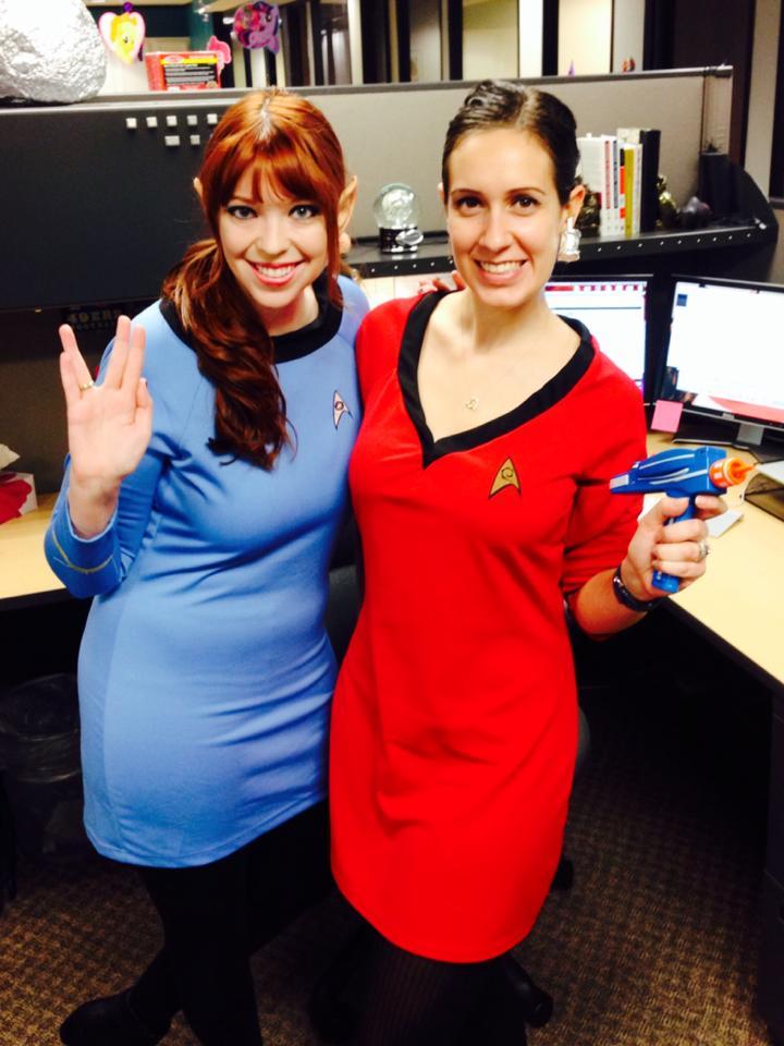 with - Uhura Halloween Costume