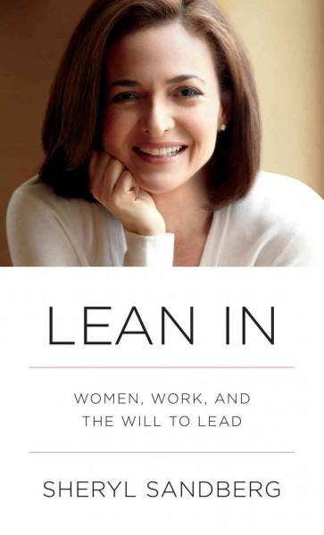 Lean In by Sheryl Sandberg book