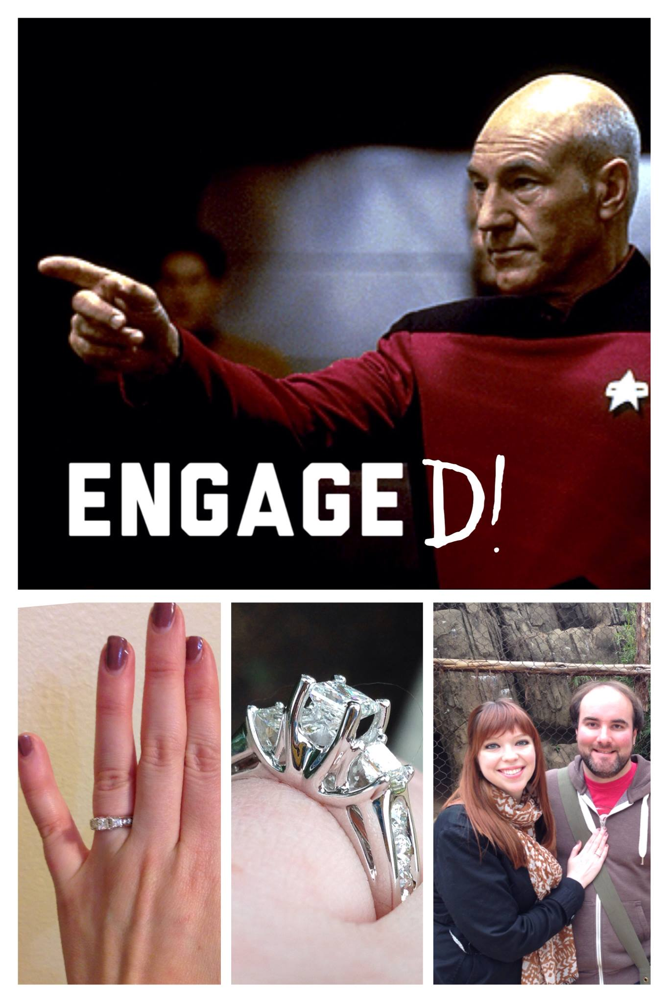 Star Trek Next Generation Engagement Announcement