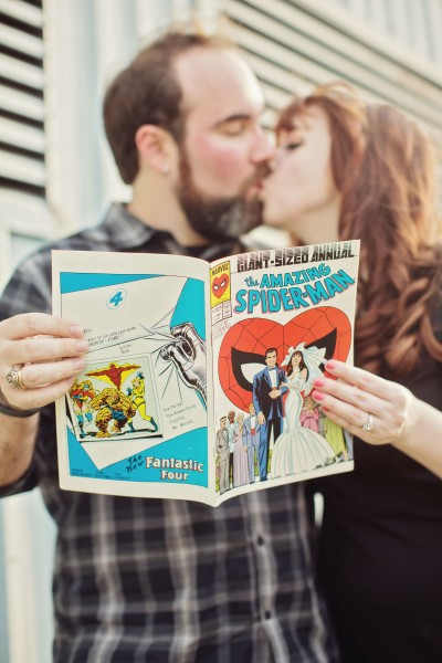 Engagement Photos - Amazing Spider-Man Annual Volume 1 #21